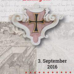 800 Jahre Deutscher Orden in seiner Residenz Ellingen