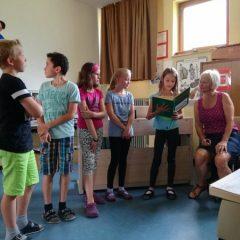 Max und Moritz in der Klasse 4b
