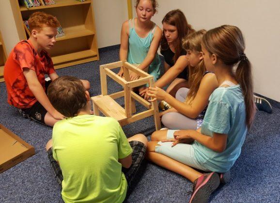 Schülerbücherei in neuen Räumen